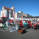 農機具の展示会に行きました